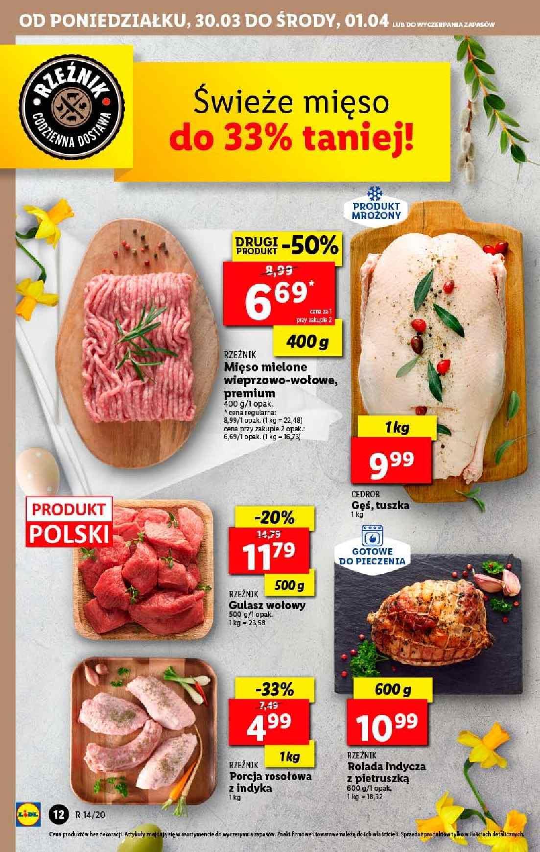 Gazetka promocyjna Lidl do 01/04/2020 str.12