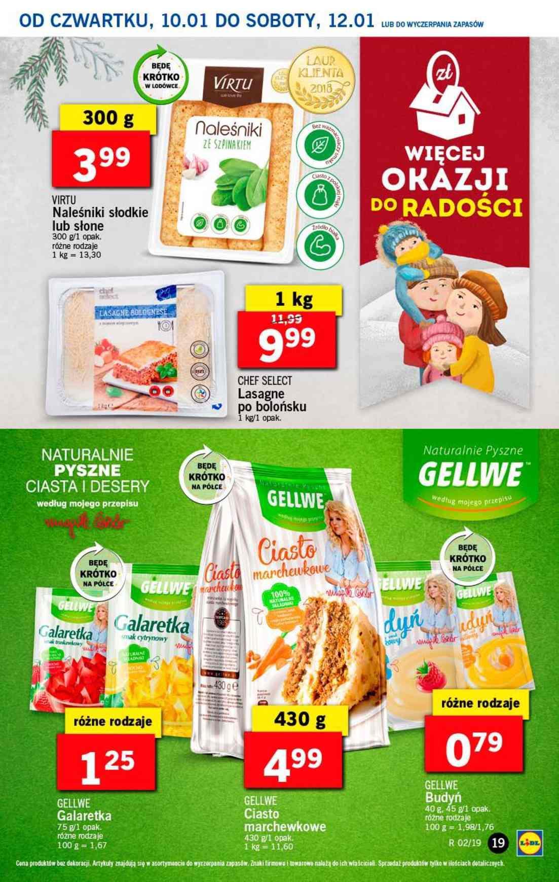 Gazetka promocyjna Lidl do 12/01/2019 str.19