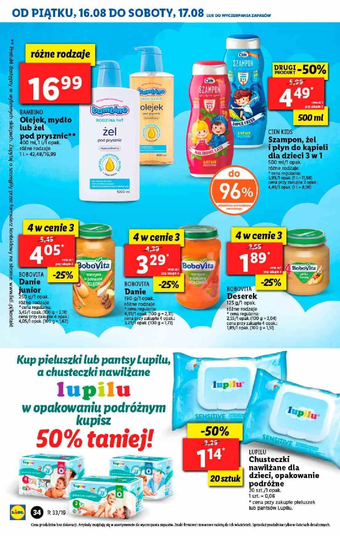 Gazetka promocyjna Lidl do 17/08/2019 str.34