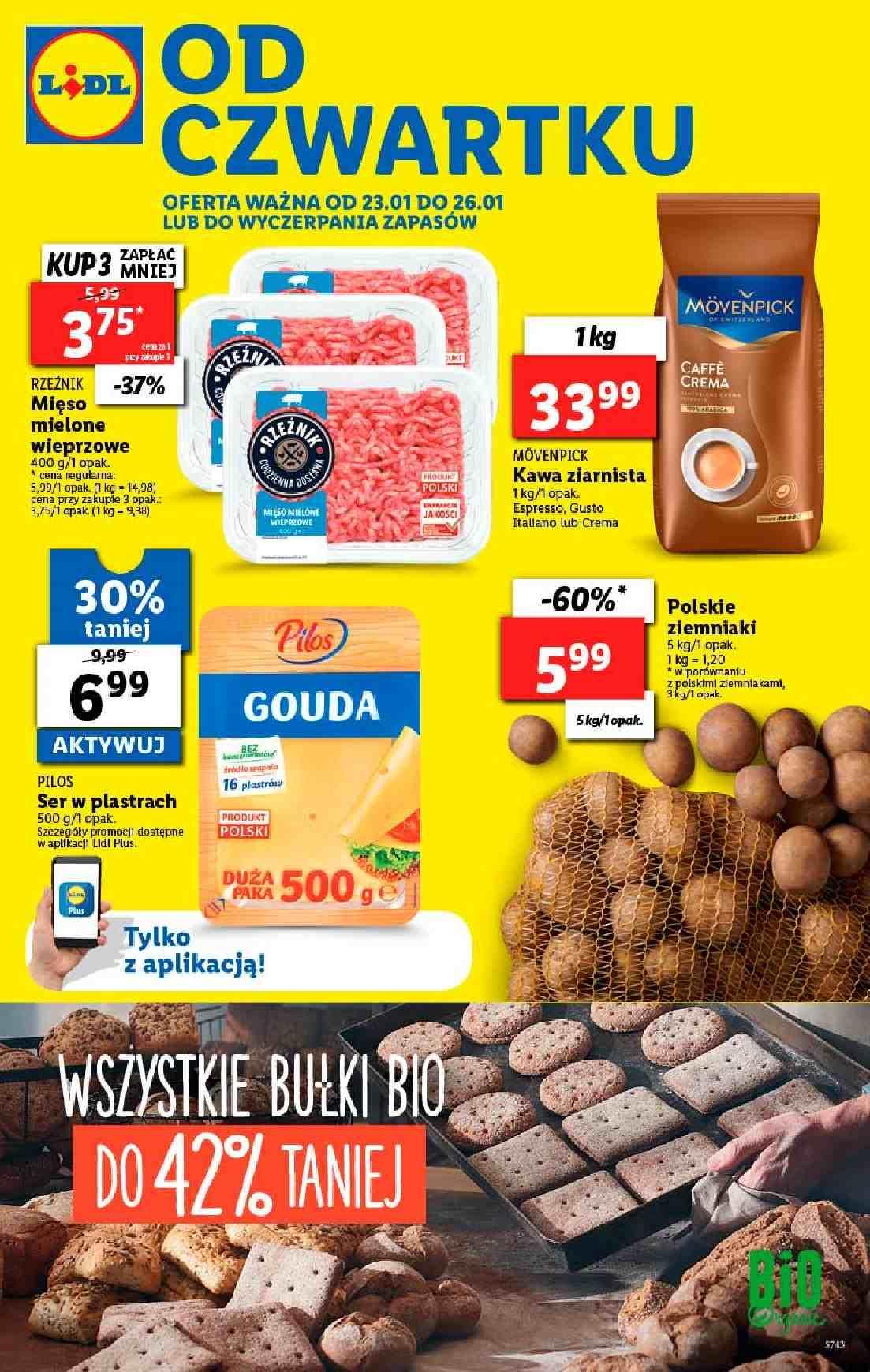 Gazetka promocyjna Lidl do 26/01/2020 str.1