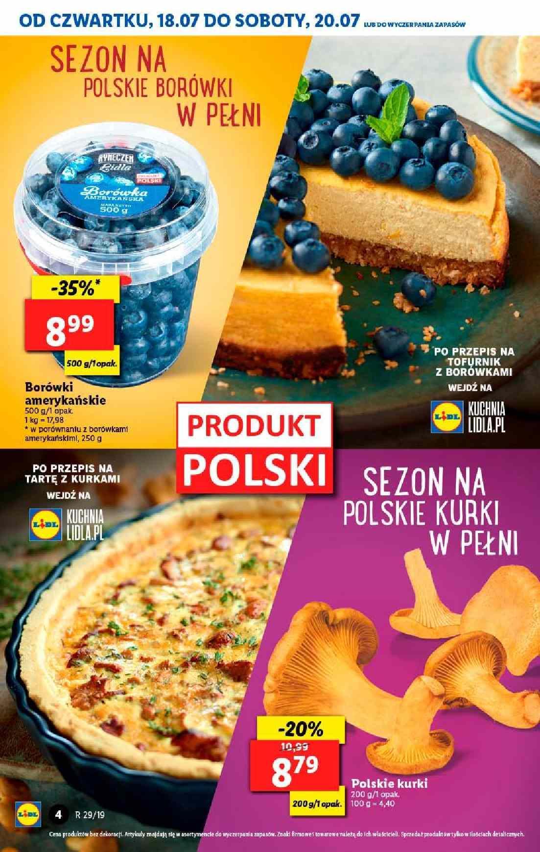 Gazetka promocyjna Lidl do 20/07/2019 str.4