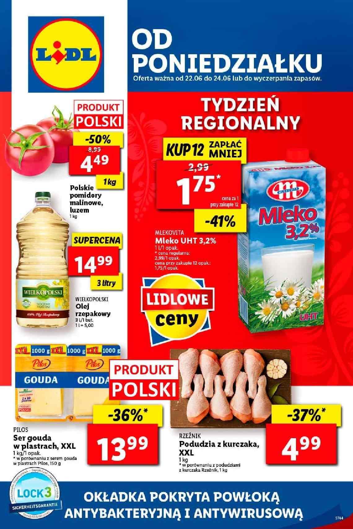 Gazetka promocyjna Lidl do 24/06/2020 str.1