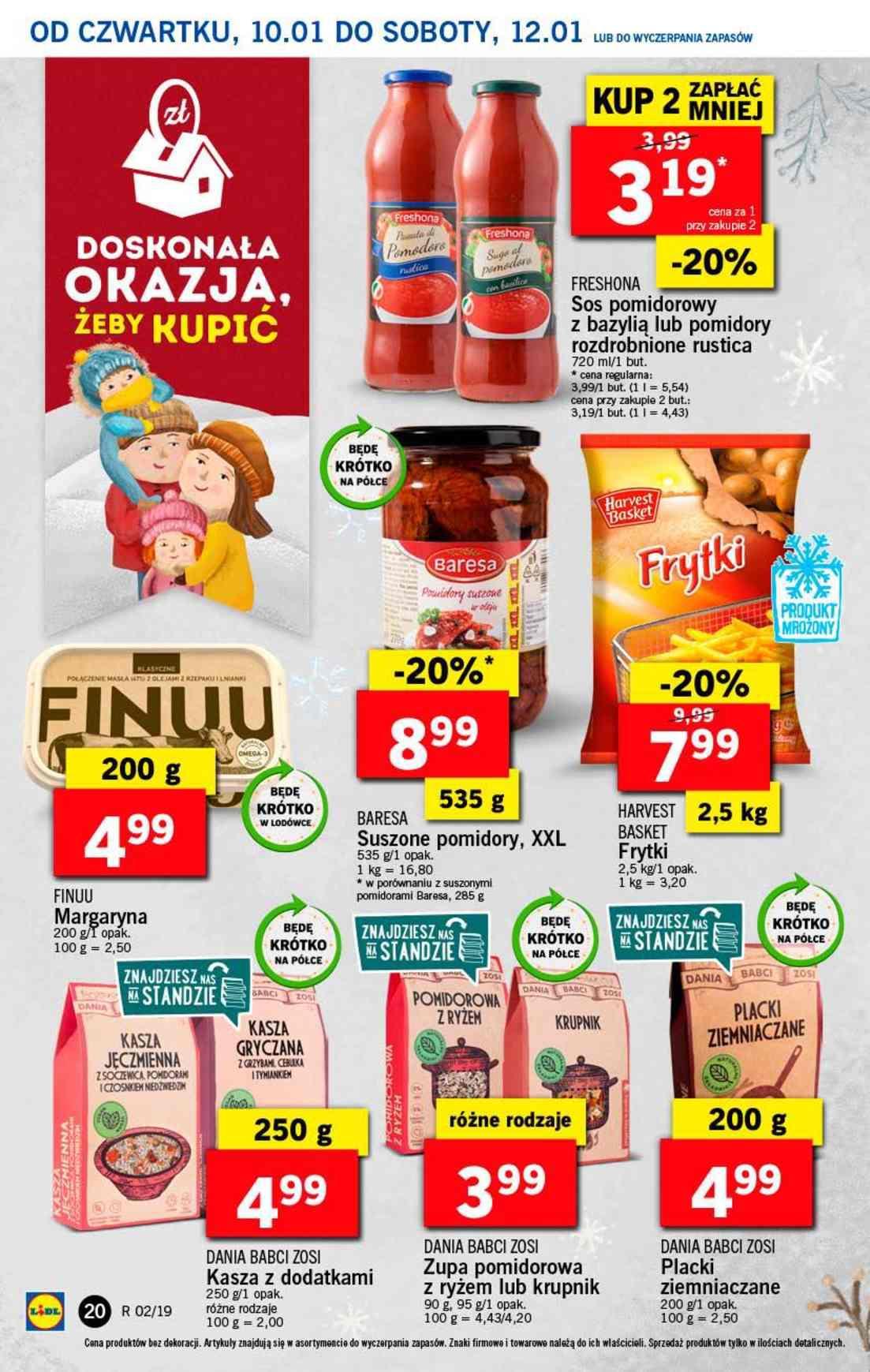 Gazetka promocyjna Lidl do 12/01/2019 str.20