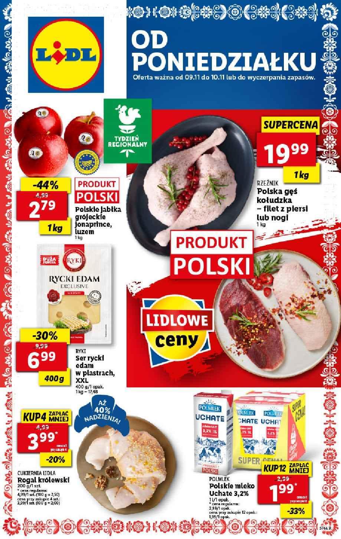 Gazetka promocyjna Lidl do 14/11/2020 str.1
