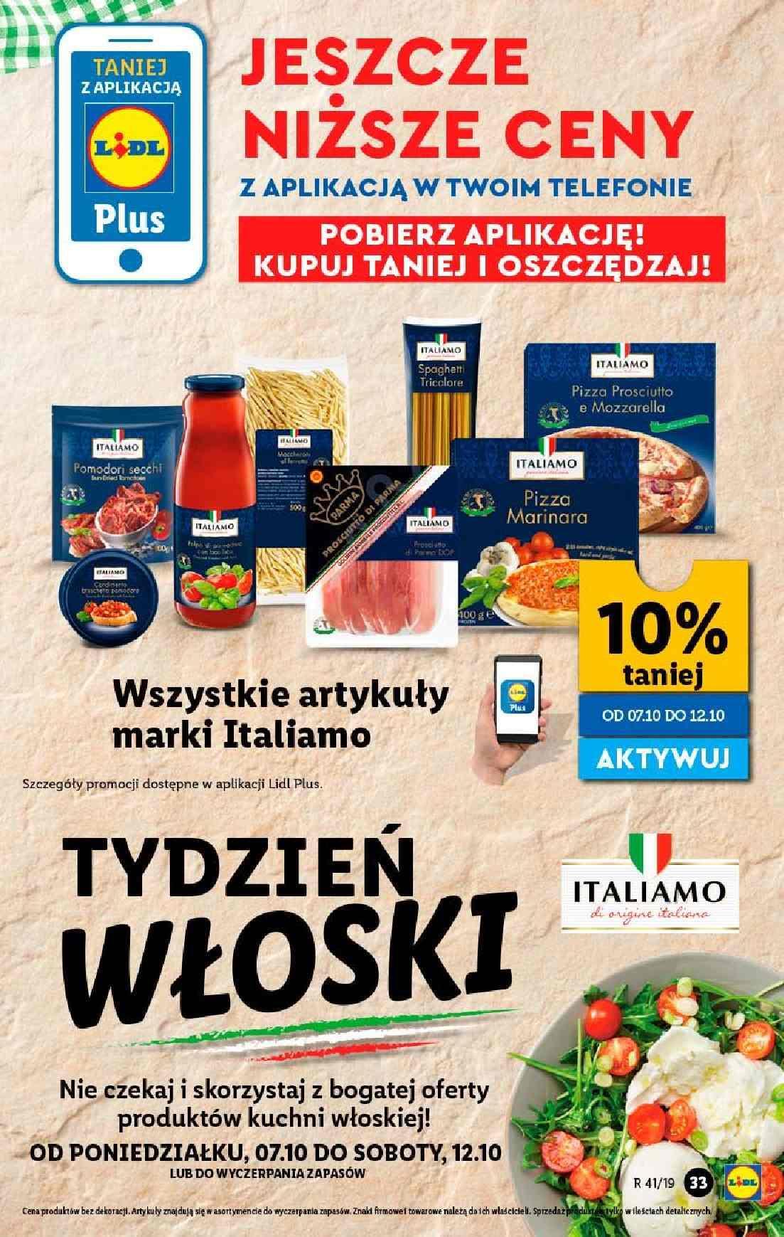 Gazetka promocyjna Lidl do 12/10/2019 str.33