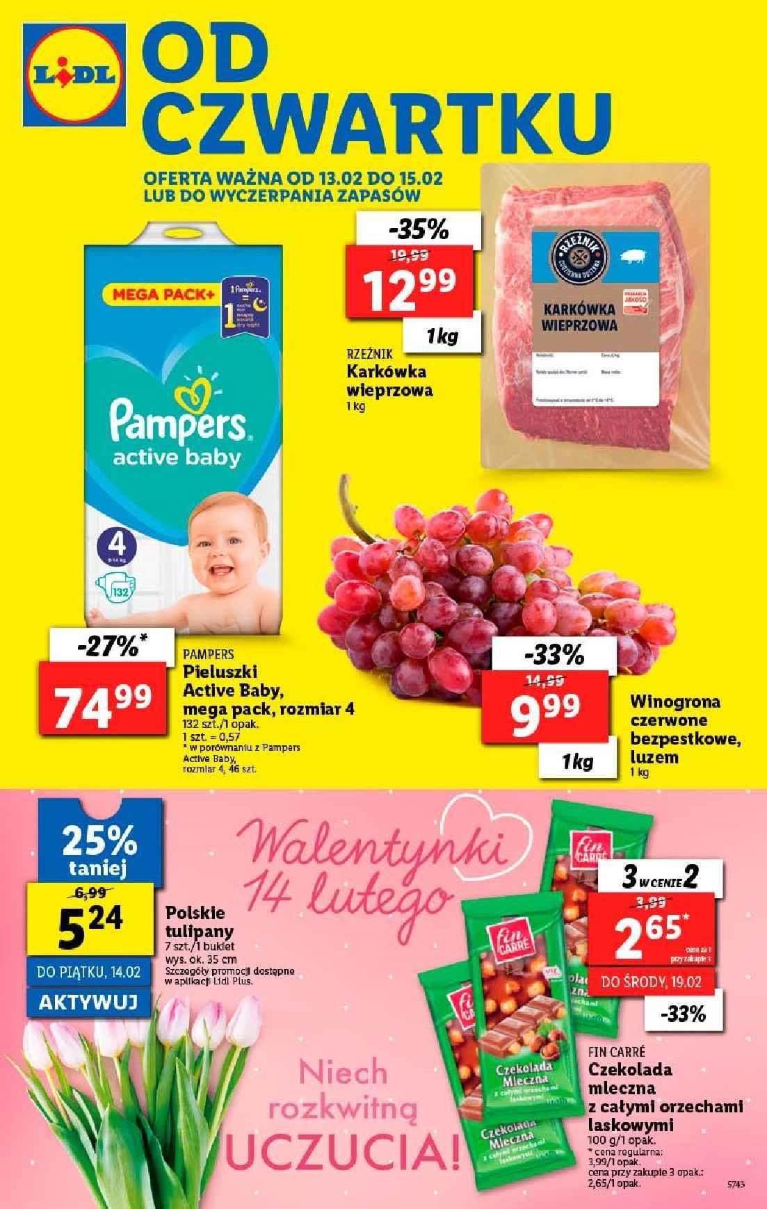 Gazetka promocyjna Lidl do 15/02/2020 str.1
