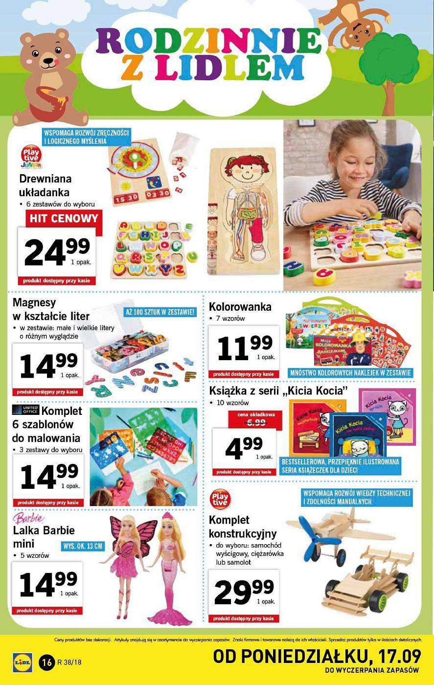 Gazetka promocyjna Lidl do 22/09/2018 str.16