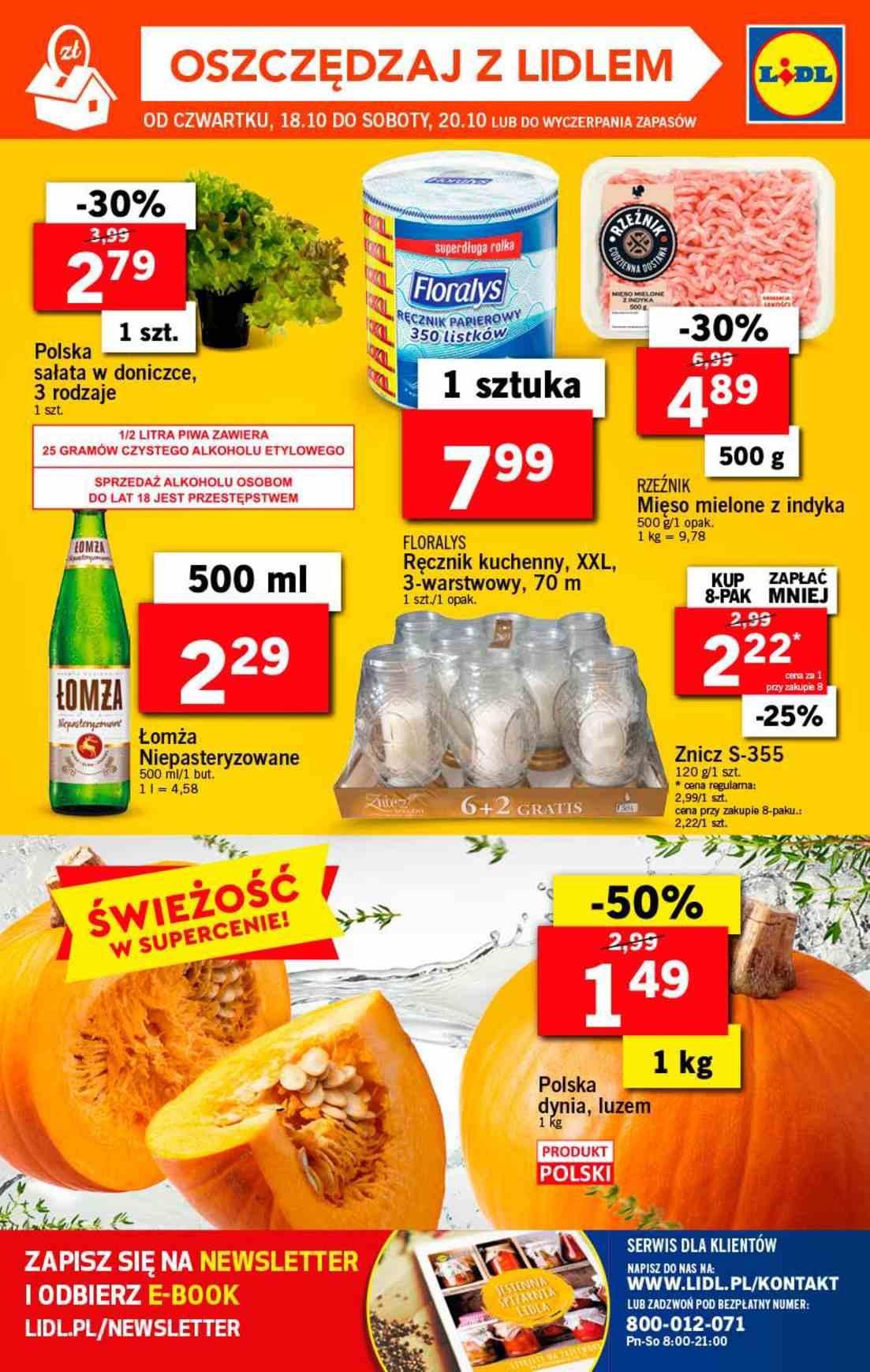 Gazetka promocyjna Lidl do 20/10/2018 str.36