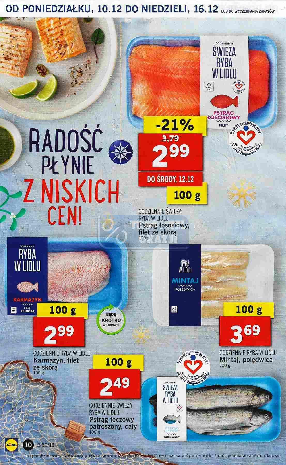 Gazetka promocyjna Lidl do 12/12/2018 str.10