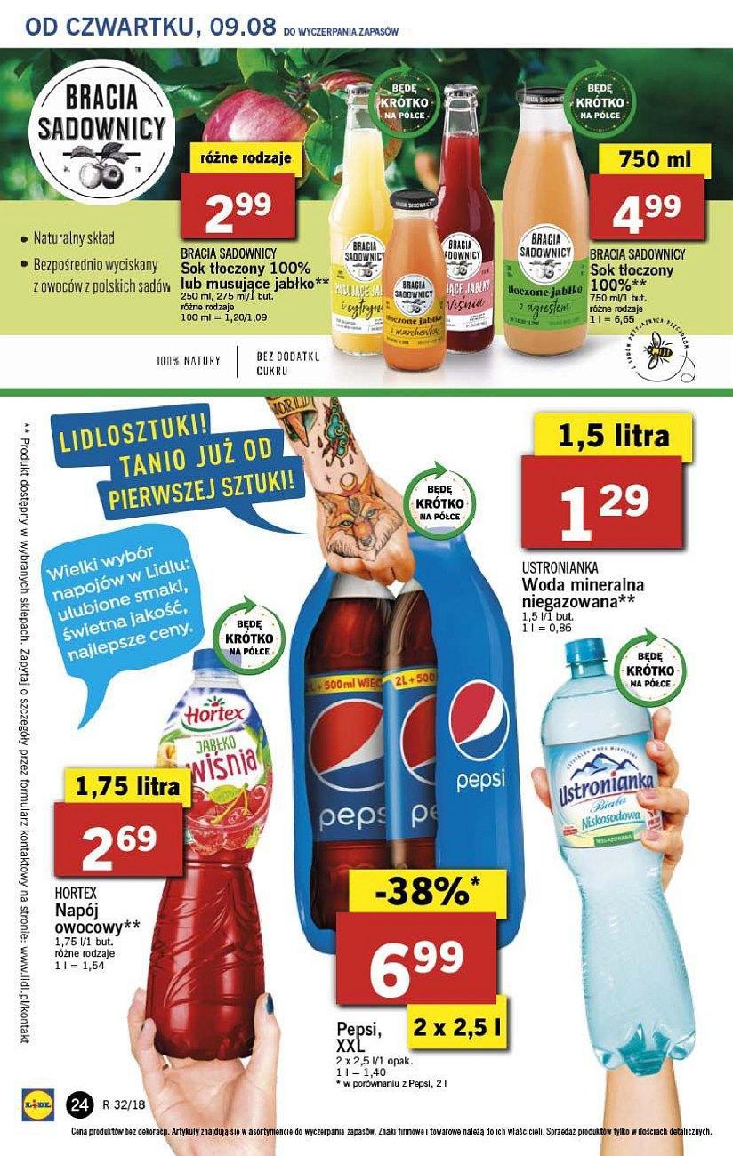 Gazetka promocyjna Lidl do 11/08/2018 str.23