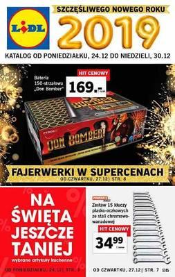 Lidl gazetka - od 24/12/2018 do 30/12/2018