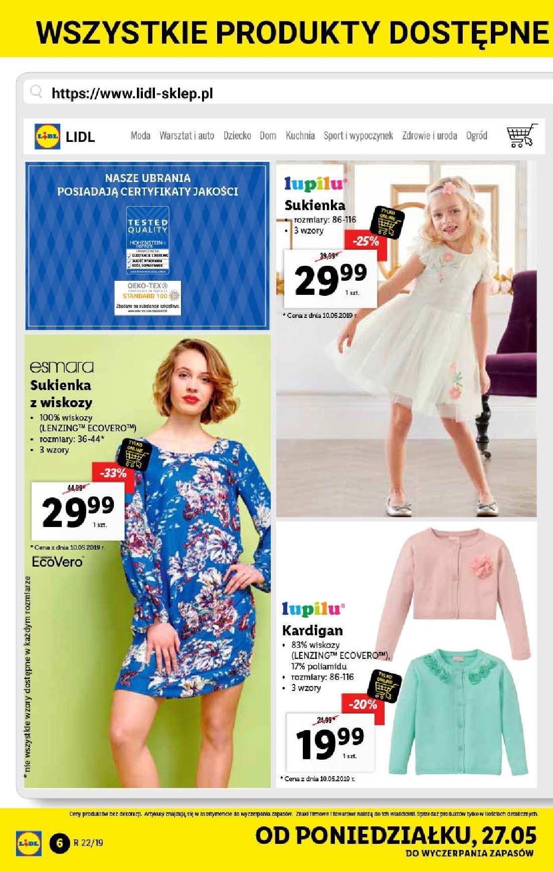 Gazetka promocyjna Lidl do 02/06/2019 str.6