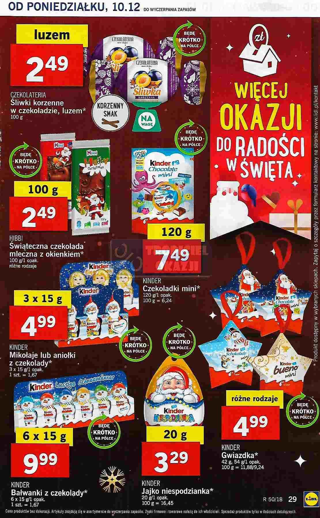 Gazetka promocyjna Lidl do 12/12/2018 str.29