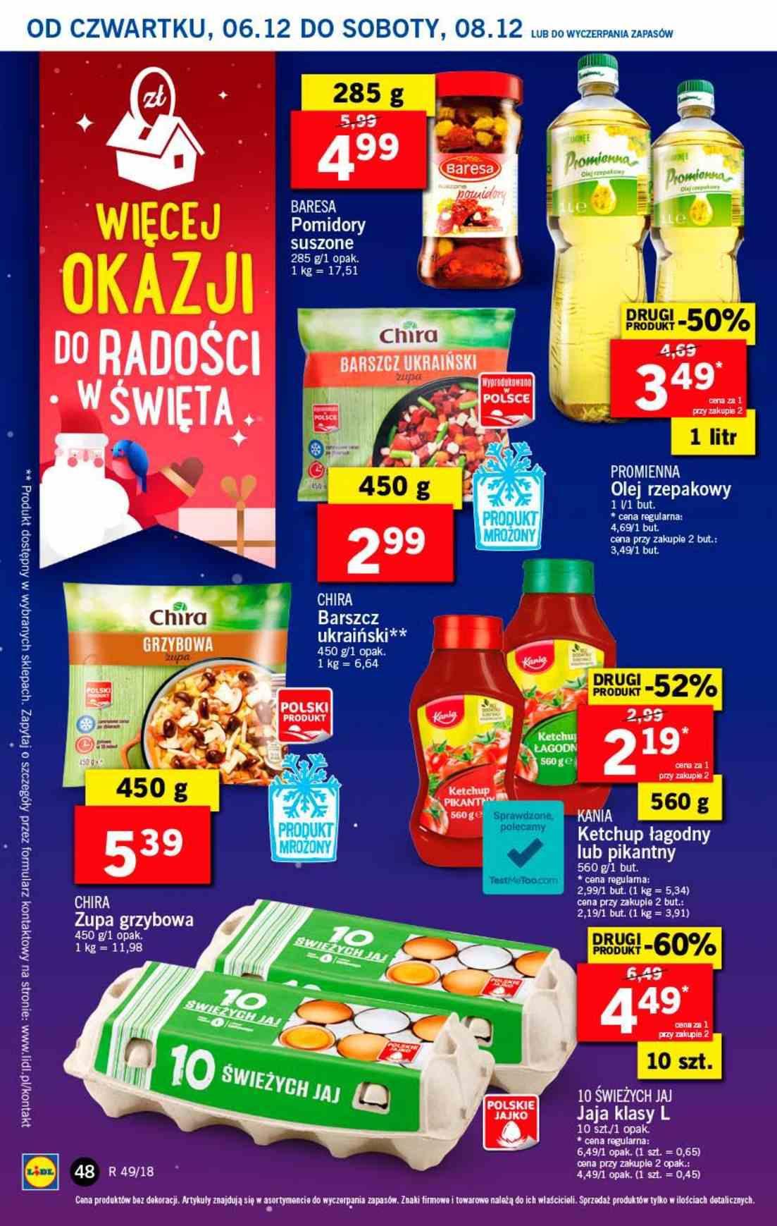 Gazetka promocyjna Lidl do 08/12/2018 str.48