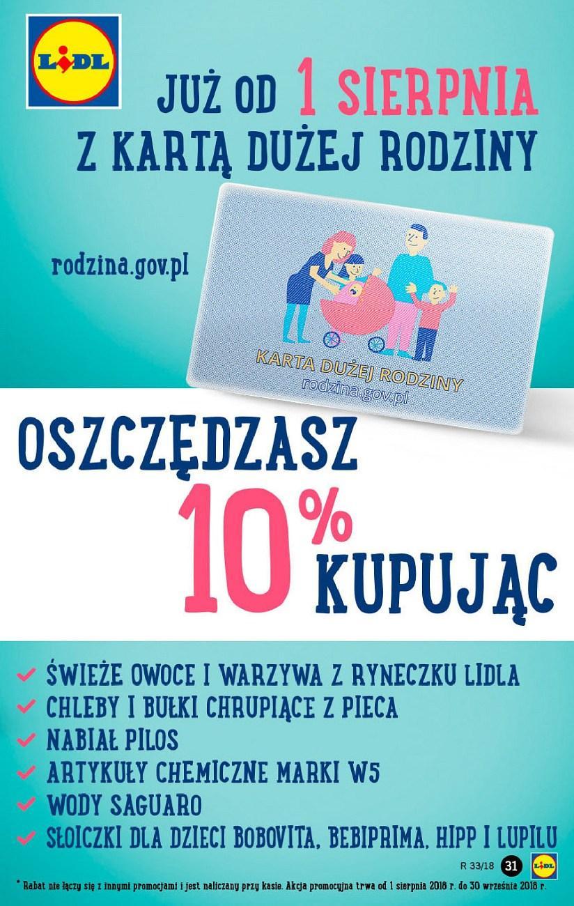 Gazetka promocyjna Lidl do 14/08/2018 str.31