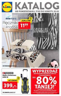 Lidl gazetka - od 17/02/2020 do 22/02/2020