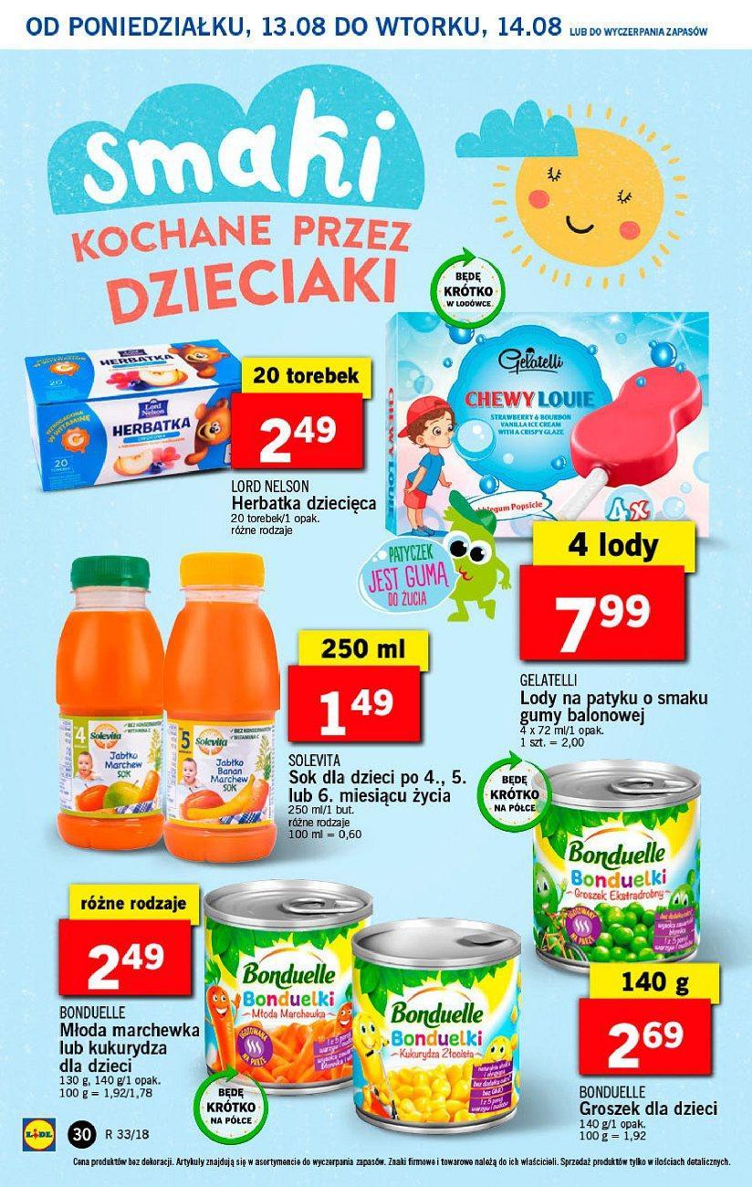 Gazetka promocyjna Lidl do 14/08/2018 str.30