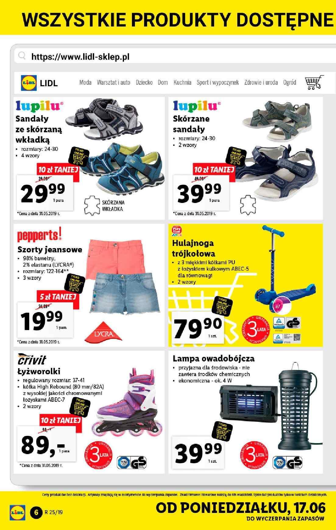 Gazetka promocyjna Lidl do 22/06/2019 str.6