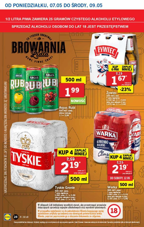 Gazetka promocyjna Lidl do 09/05/2018 str.27