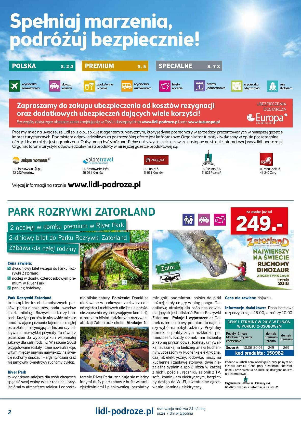 Gazetka promocyjna Lidl do 20/05/2018 str.1