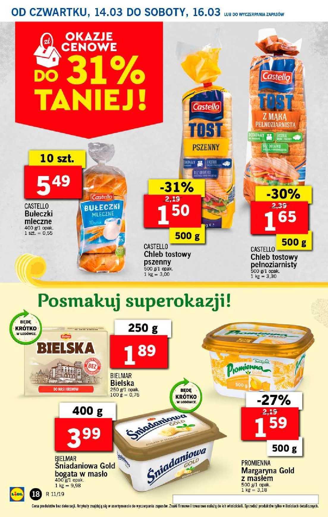 Gazetka promocyjna Lidl do 17/03/2019 str.18