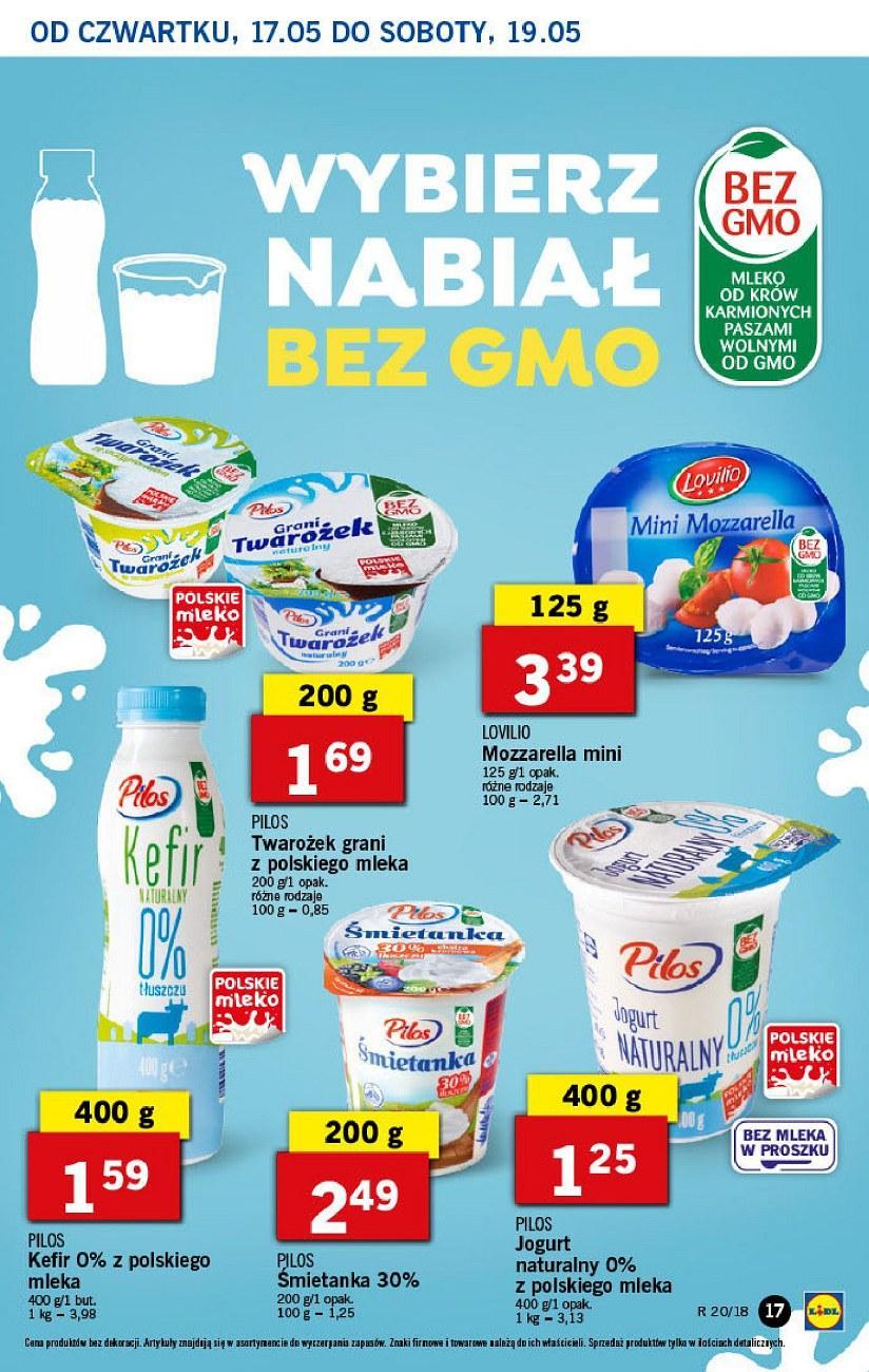 Gazetka promocyjna Lidl do 19/05/2018 str.17