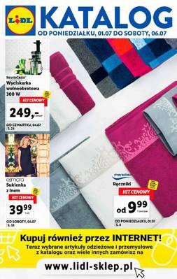 Lidl gazetka - od 01/07/2019 do 06/07/2019