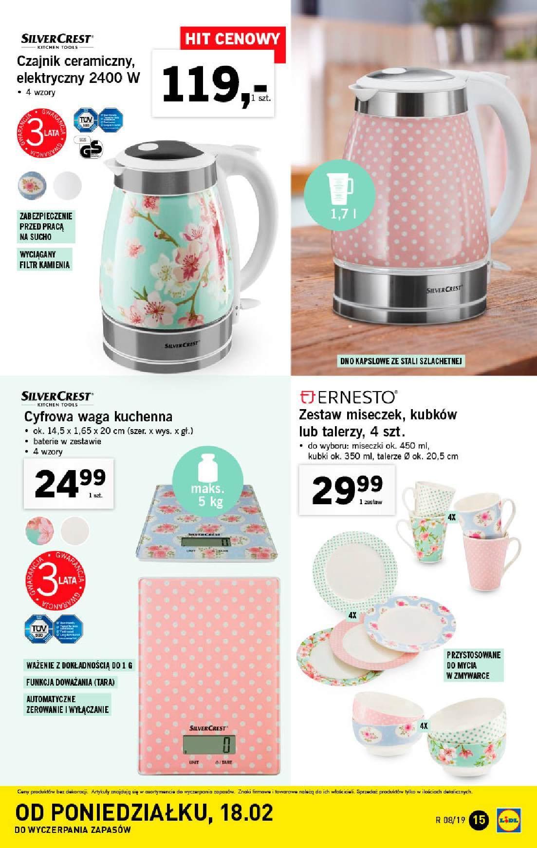 Gazetka promocyjna Lidl do 24/02/2019 str.15
