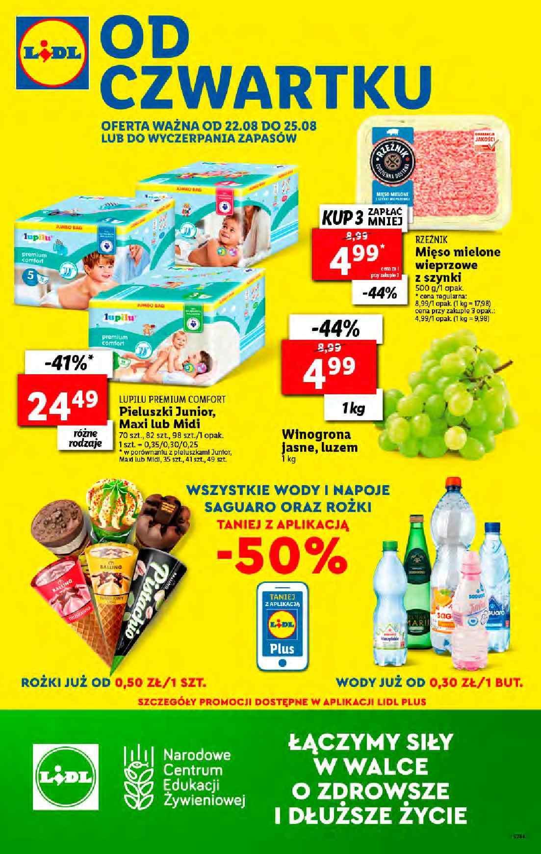 Gazetka promocyjna Lidl do 25/08/2019 str.1