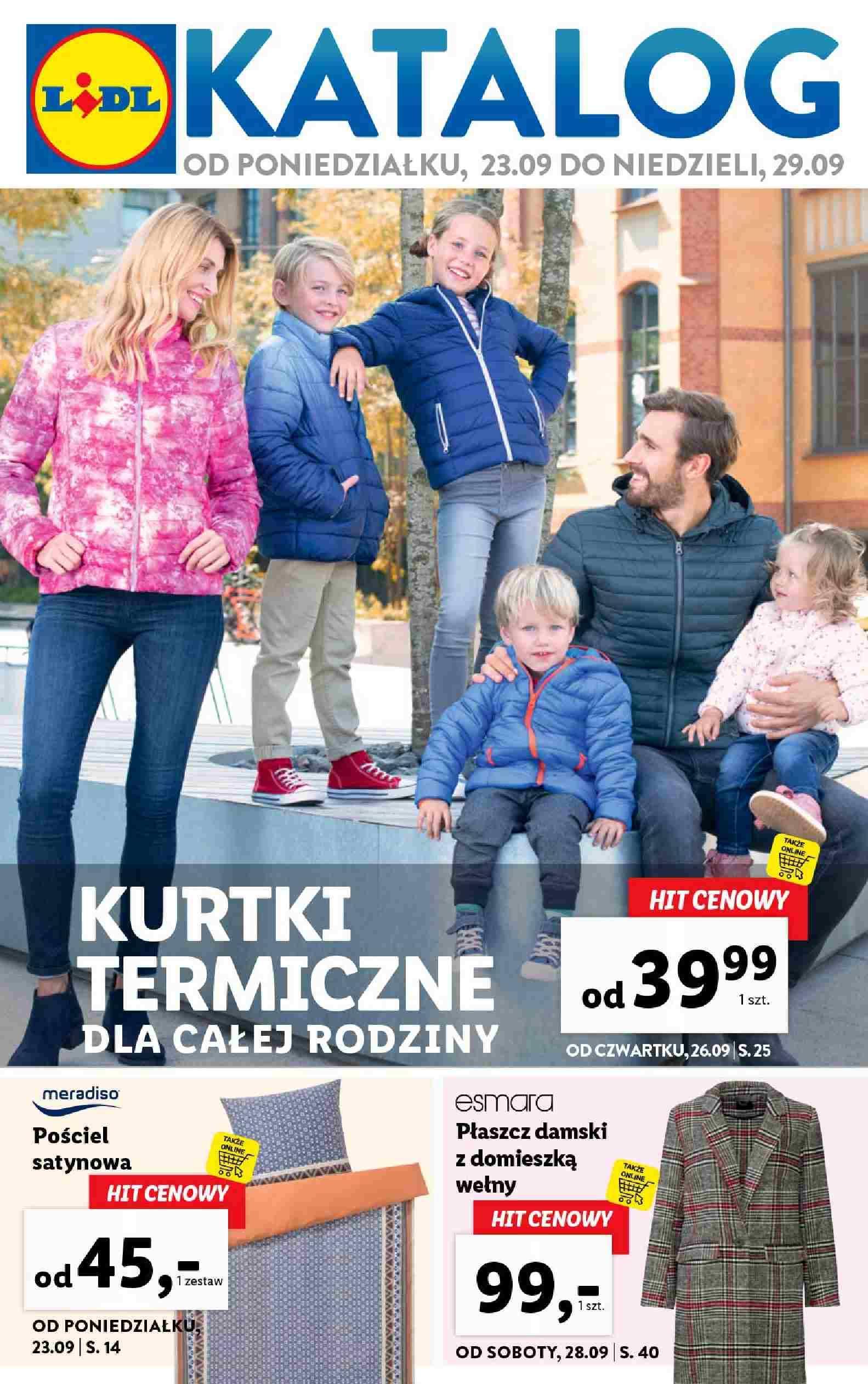 Gazetka promocyjna Lidl do 29/09/2019 str.1