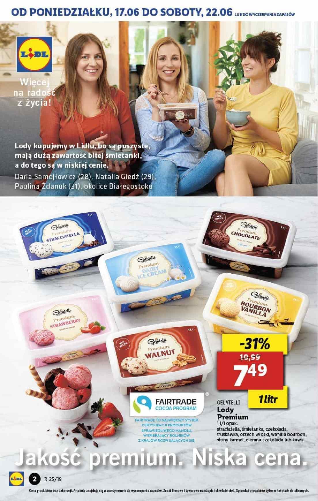 Gazetka promocyjna Lidl do 26/06/2019 str.2