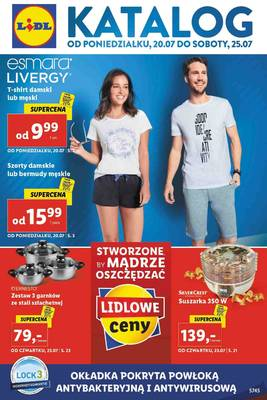 Lidl gazetka - od 20/07/2020 do 26/07/2020