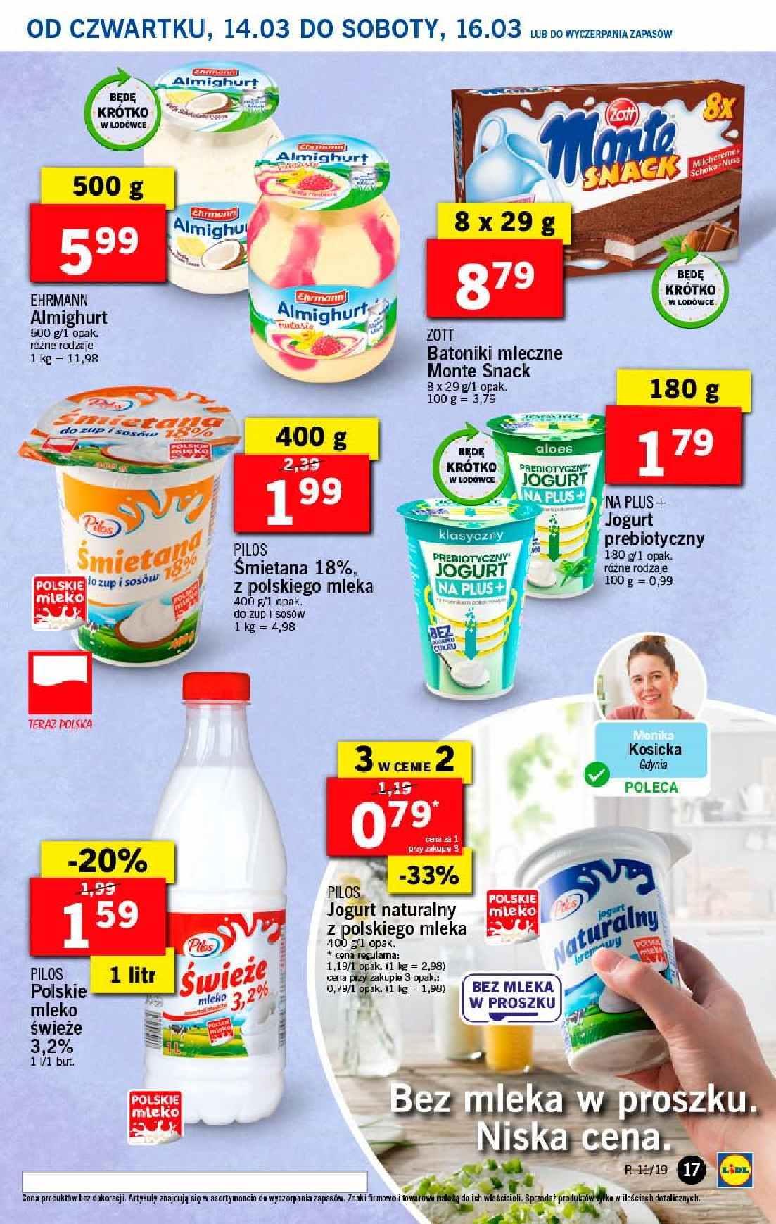 Gazetka promocyjna Lidl do 17/03/2019 str.17