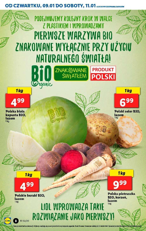 Gazetka promocyjna Lidl do 11/01/2020 str.8