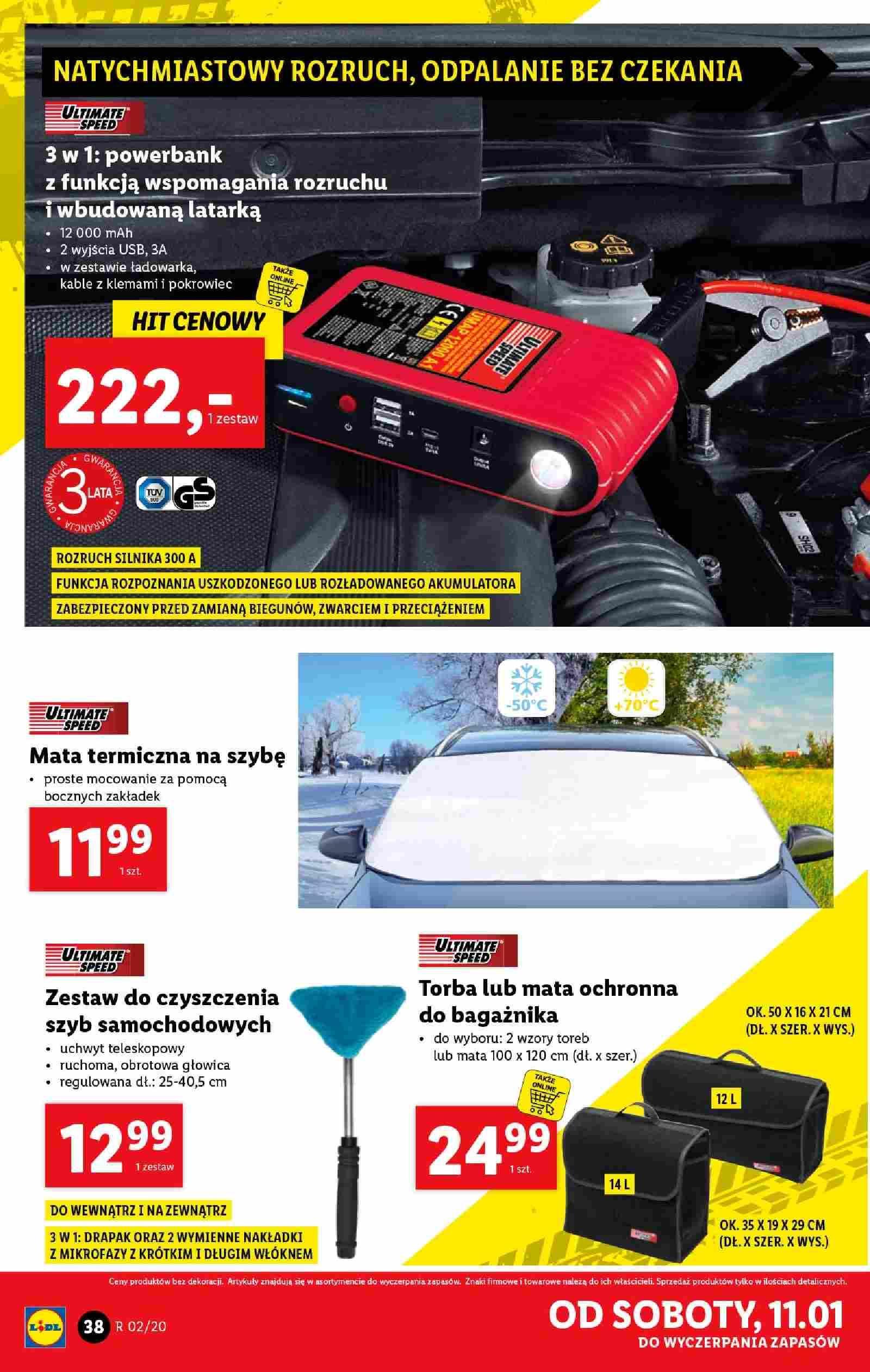 Gazetka promocyjna Lidl do 11/01/2020 str.38