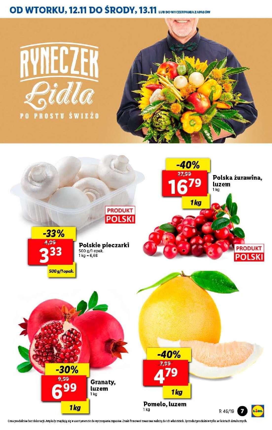Gazetka promocyjna Lidl do 13/11/2019 str.7