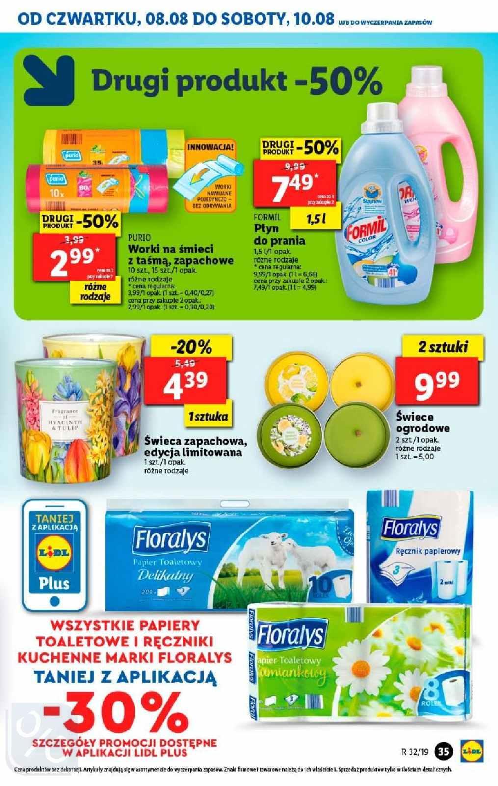 Gazetka promocyjna Lidl do 11/08/2019 str.34