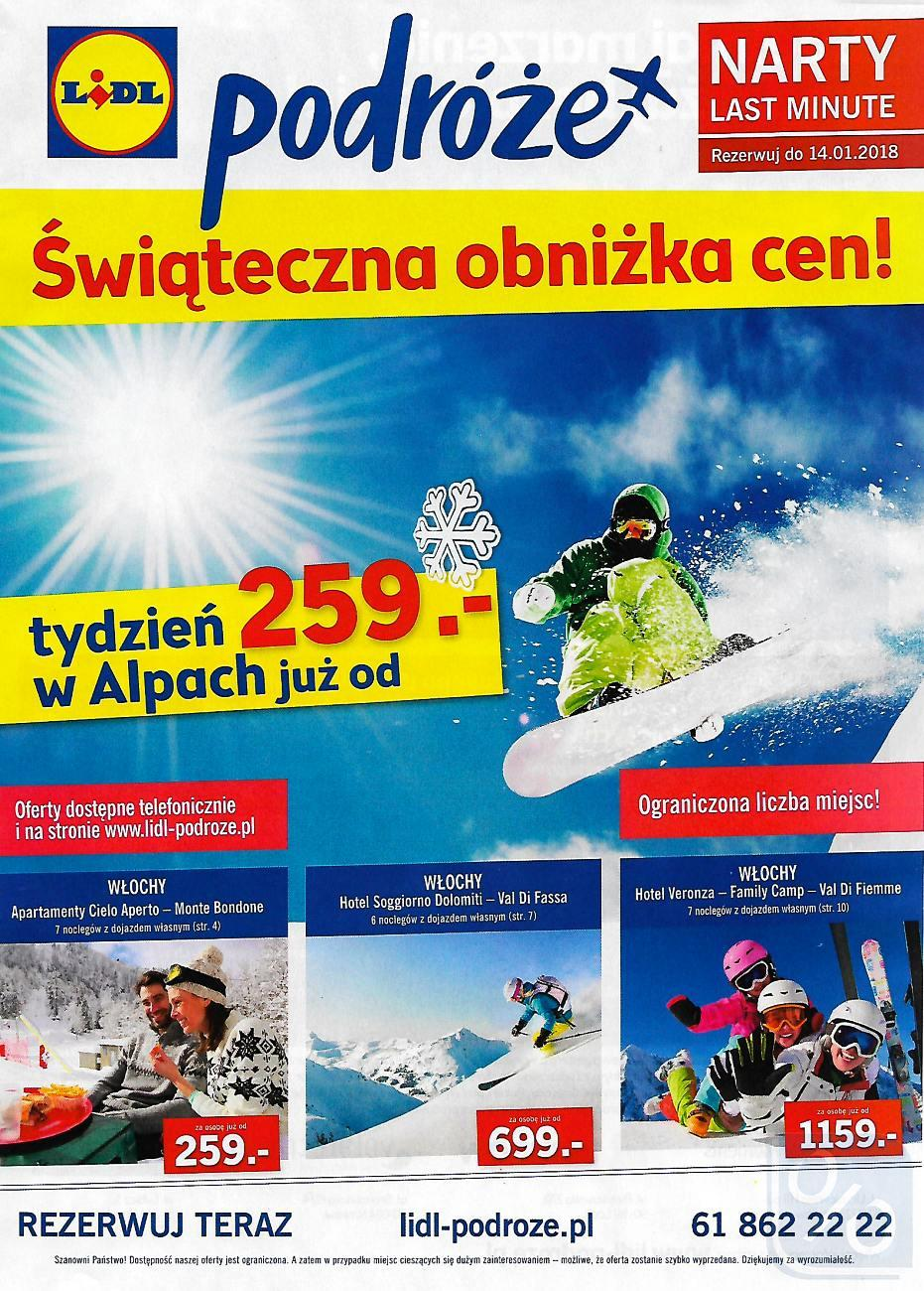 Gazetka promocyjna Lidl do 14/01/2018 str.0