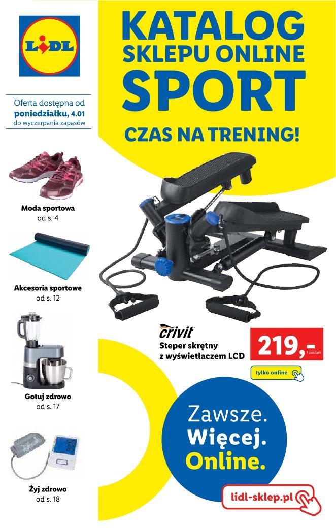 Gazetka promocyjna Lidl do 31/01/2021 str.1
