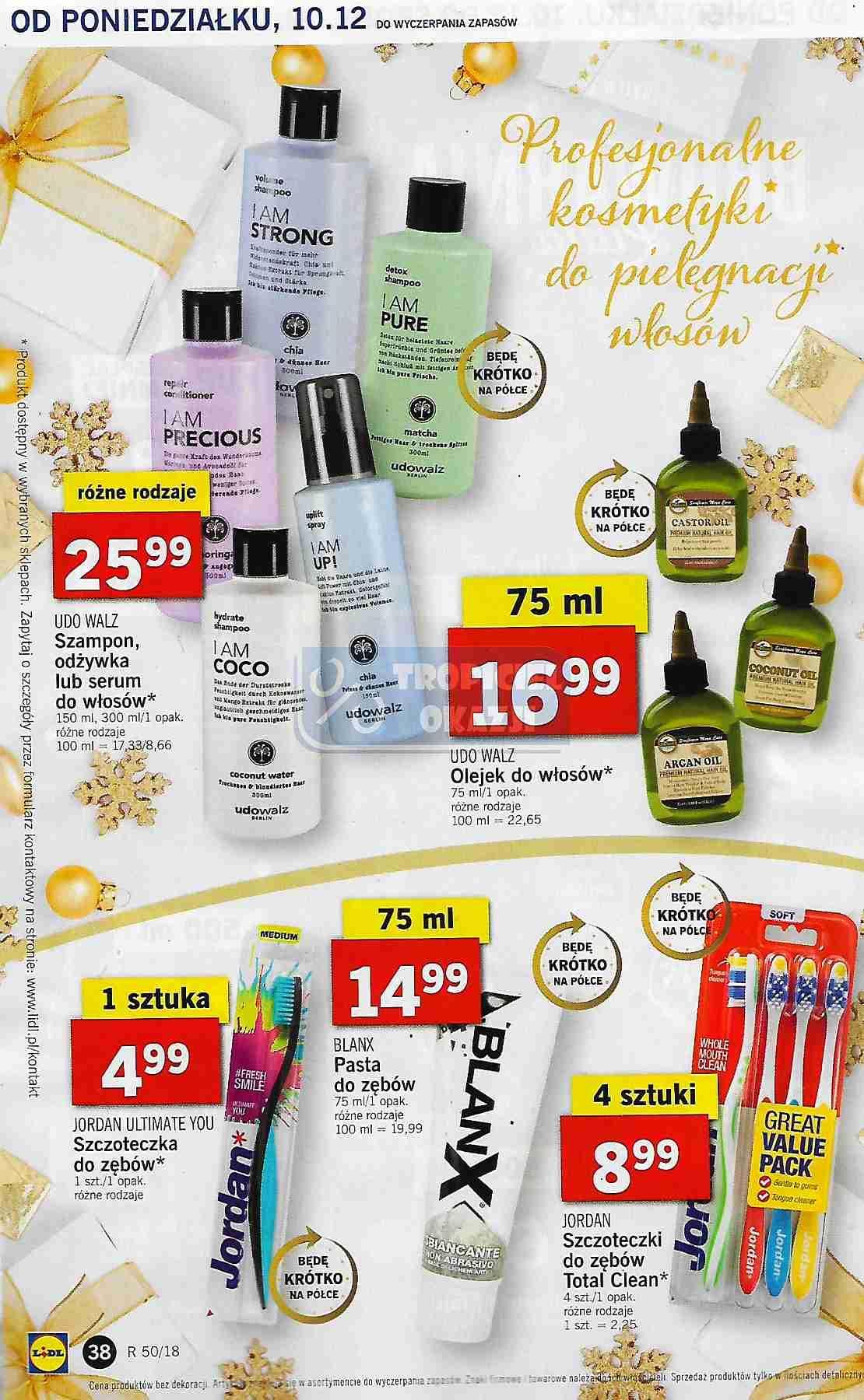 Gazetka promocyjna Lidl do 12/12/2018 str.38