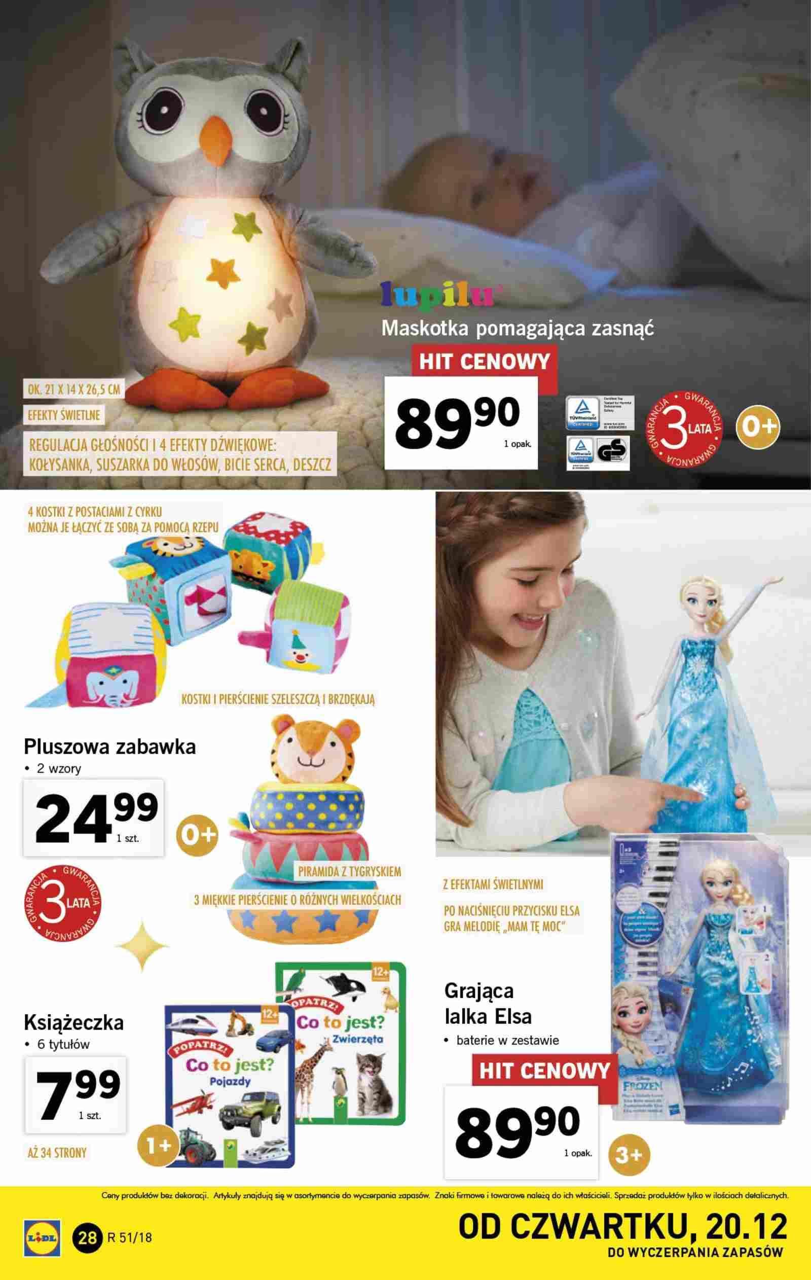 Gazetka promocyjna Lidl do 23/12/2018 str.28