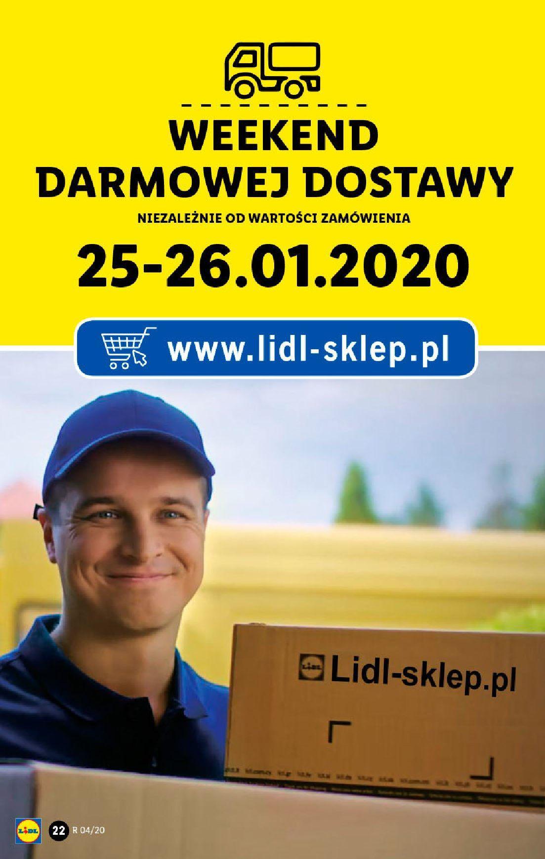 Gazetka promocyjna Lidl do 26/01/2020 str.22