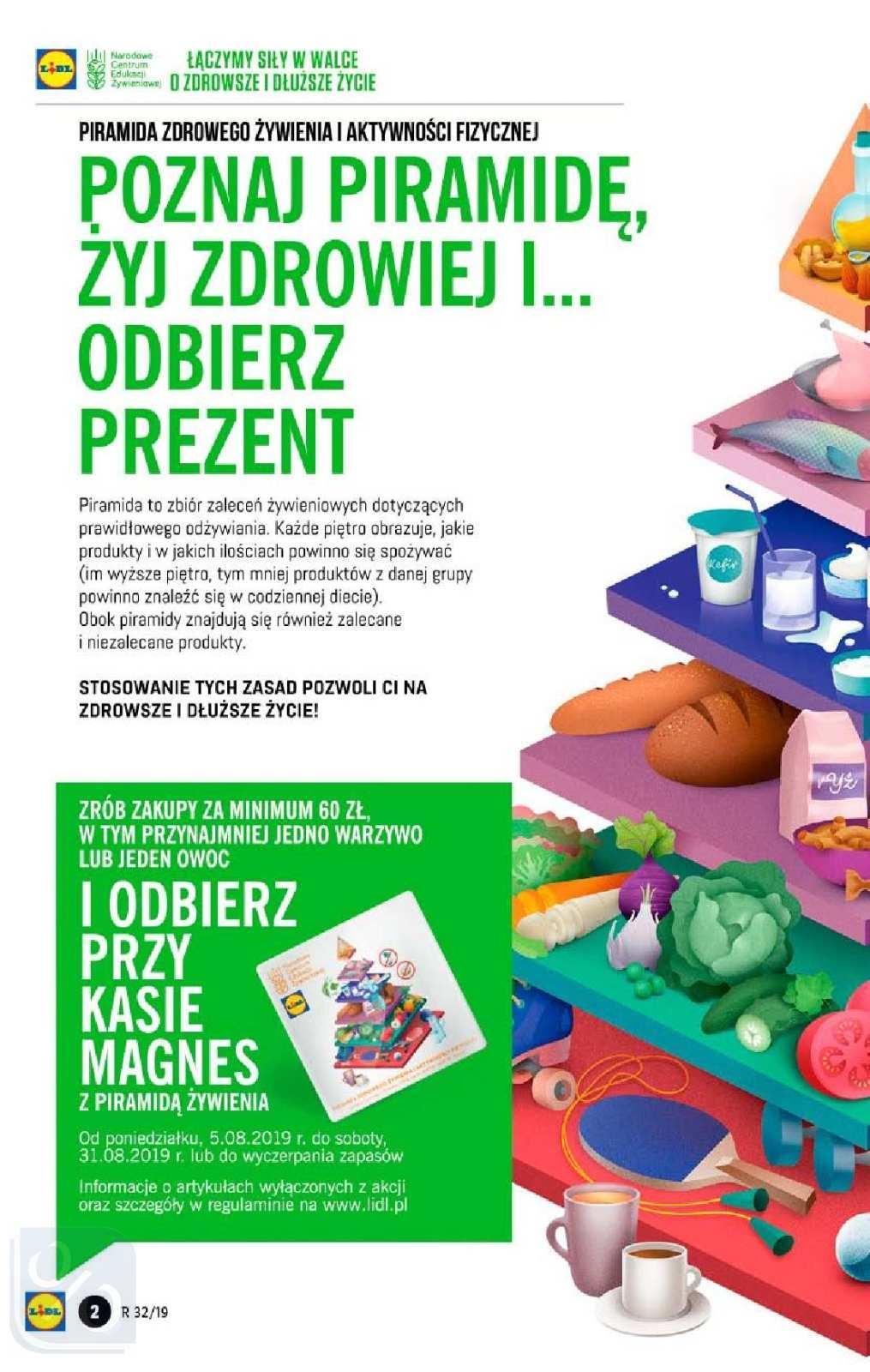 Gazetka promocyjna Lidl do 11/08/2019 str.1