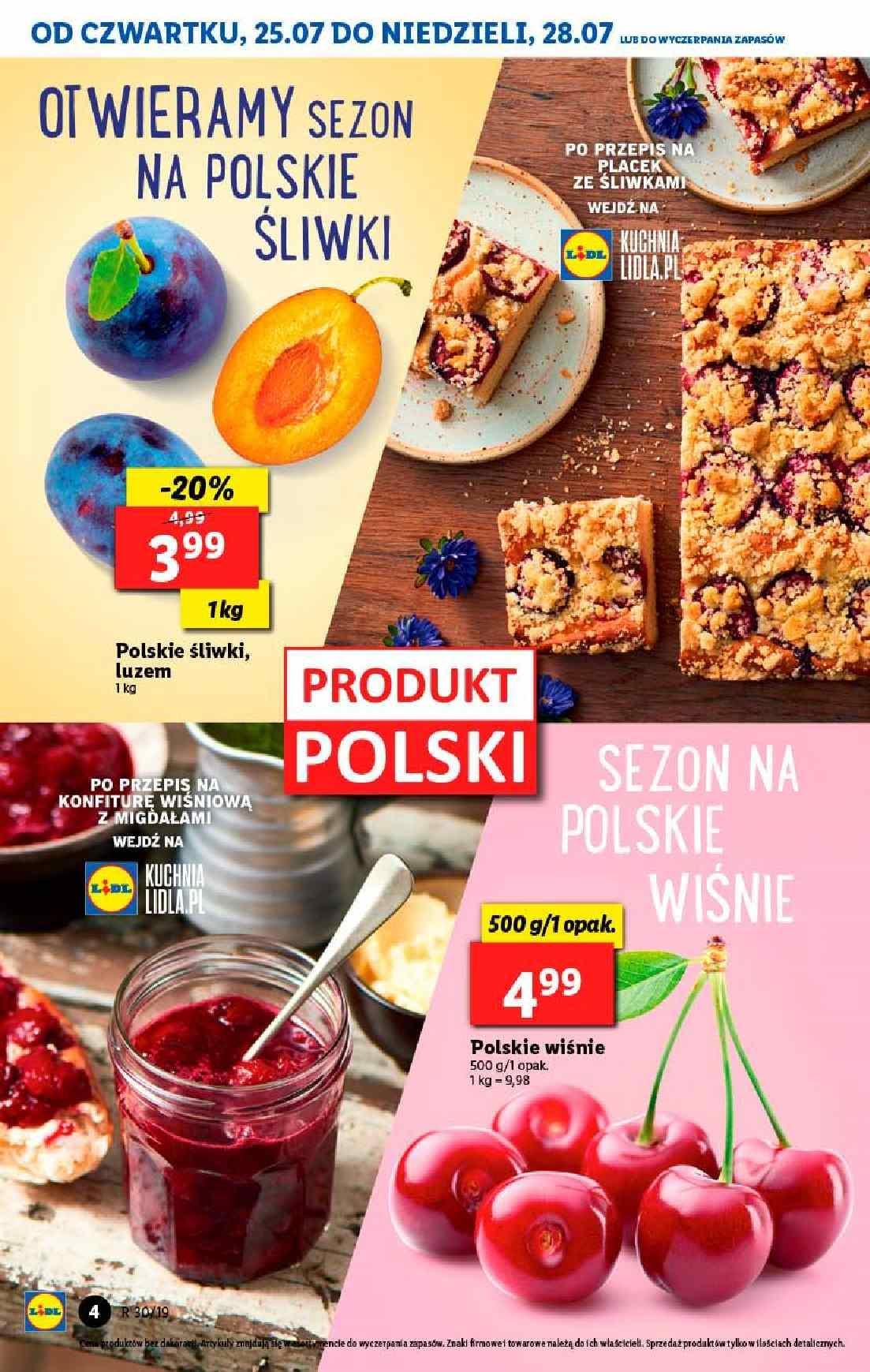 Gazetka promocyjna Lidl do 28/07/2019 str.4