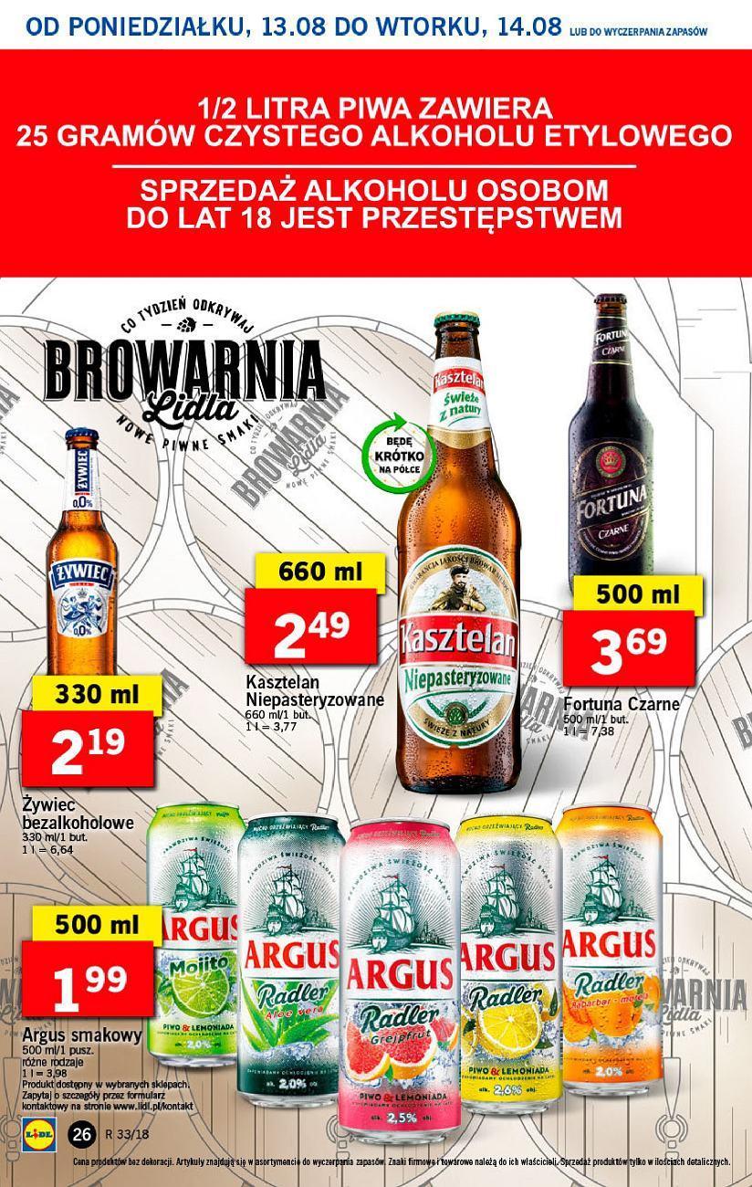 Gazetka promocyjna Lidl do 14/08/2018 str.26