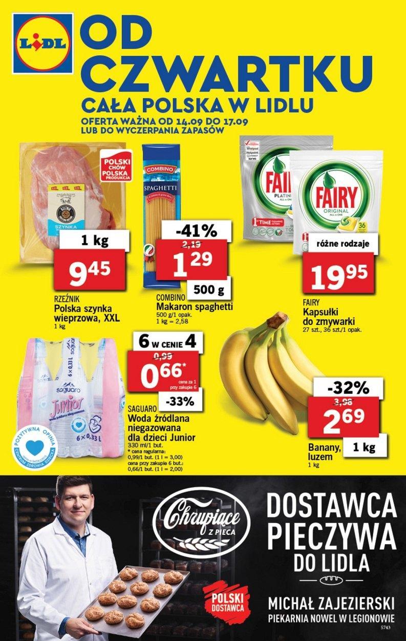 Gazetka promocyjna Lidl do 17/09/2017 str.0