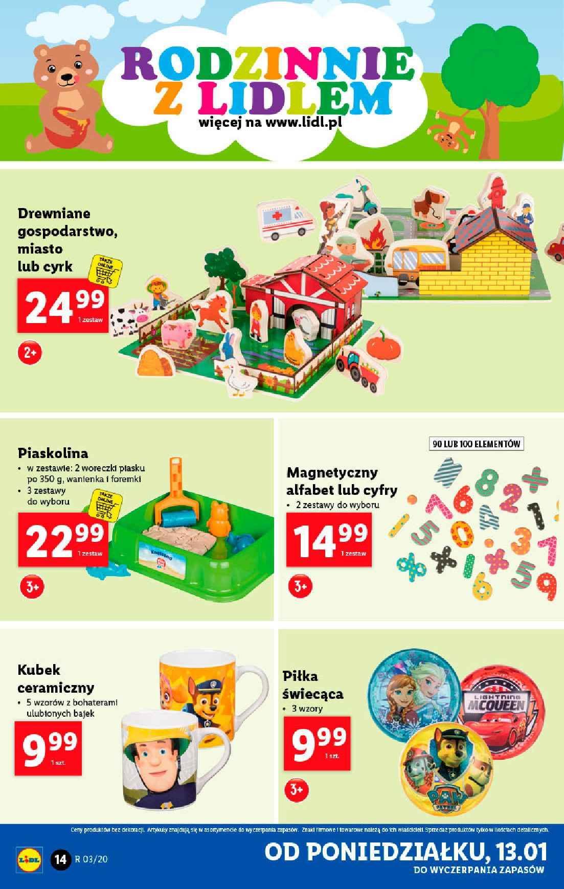 Gazetka promocyjna Lidl do 18/01/2020 str.14