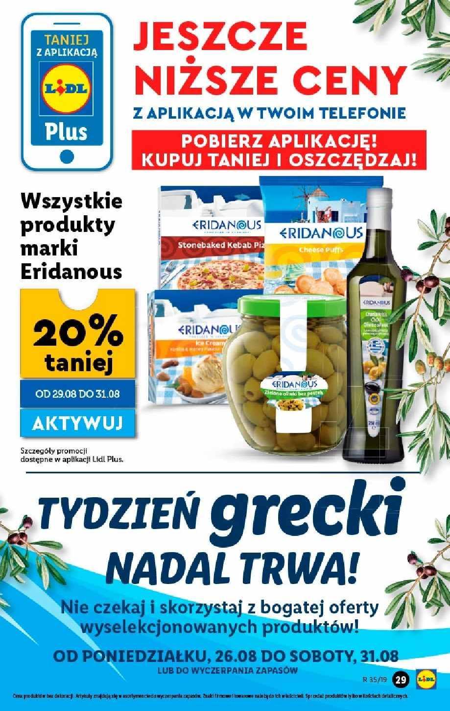 Gazetka promocyjna Lidl do 31/08/2019 str.28