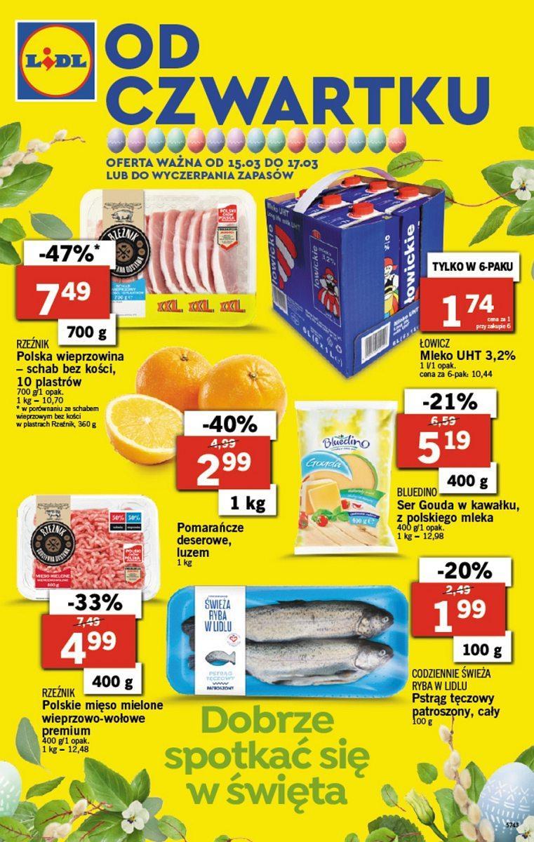Gazetka promocyjna Lidl do 17/03/2018 str.0