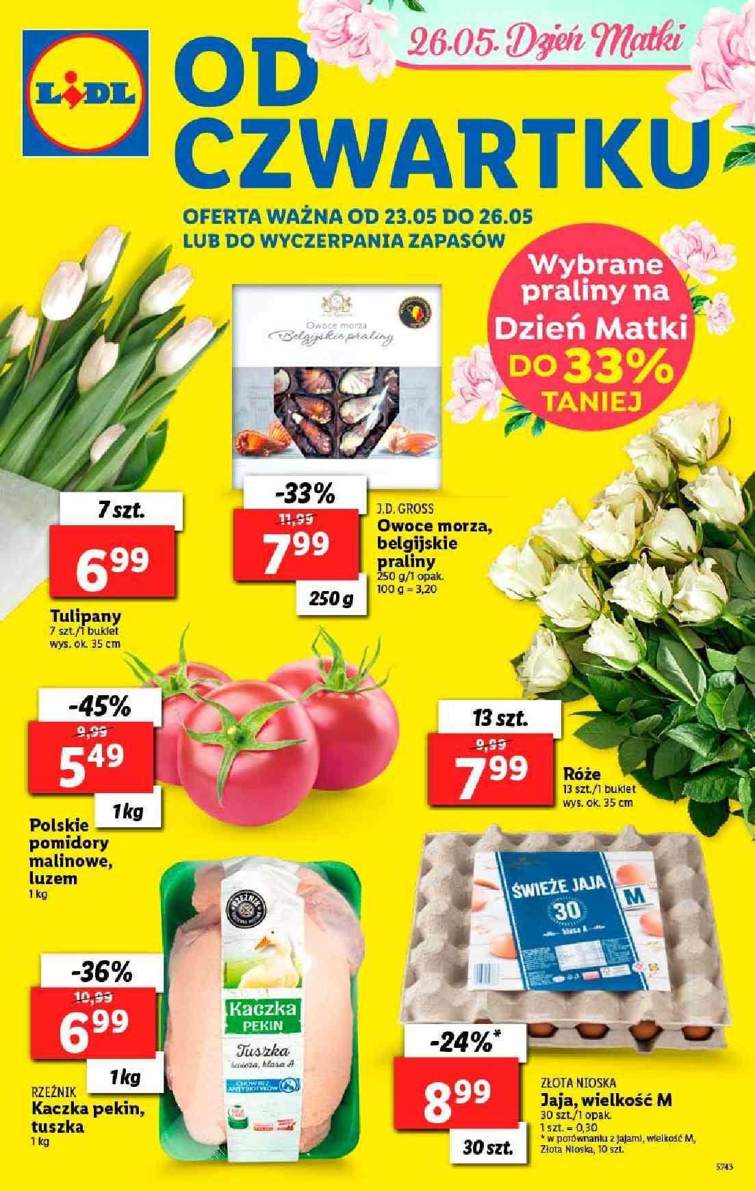 Gazetka promocyjna Lidl do 26/05/2019 str.0